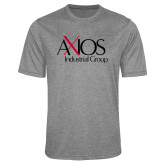Performance Grey Heather Contender Tee-AXIOS Industrial Group