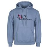 Light Blue Fleece Hoodie-AXIOS Industrial Maintenance