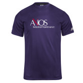 Russell Core Performance Purple Tee-AXIOS Industrial Maintenance