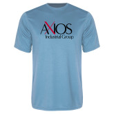 Performance Light Blue Tee-AXIOS Industrial Group