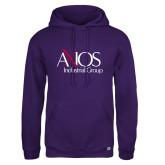 Russell DriPower Purple Fleece Hoodie-AXIOS Industrial Group