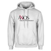 White Fleece Hoodie-AXIOS Industrial Maintenance