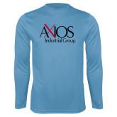 Performance Light Blue Longsleeve Shirt-AXIOS Industrial Group