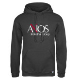 Russell DriPower Charcoal Fleece Hoodie-AXIOS Industrial Group