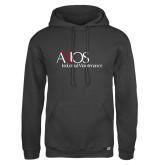 Russell DriPower Charcoal Fleece Hoodie-AXIOS Industrial Maintenance