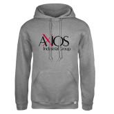 Russell DriPower Grey Fleece Hoodie-AXIOS Industrial Group