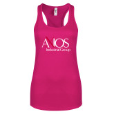 Next Level Ladies Raspberry Ideal Racerback Tank-AXIOS Industrial Group