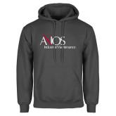 Charcoal Fleece Hoodie-AXIOS Industrial Maintenance