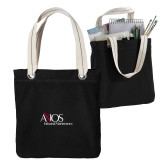 Allie Black Canvas Tote-AXIOS Industrial Maintenance