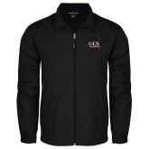 Full Zip Black Wind Jacket-AXIOS Industrial Group