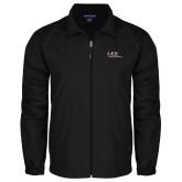Full Zip Black Wind Jacket-AXIOS Industrial Maintenance
