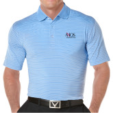 Callaway Core Stripe Light Blue/White Polo-AXIOS Industrial Group