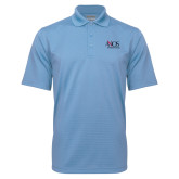 Light Blue Mini Stripe Polo-AXIOS Industrial Group