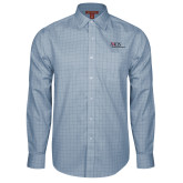 Red House Light Blue Plaid Long Sleeve Shirt-AXIOS Industrial Maintenance