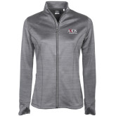Ladies Callaway Stretch Performance Heather Grey Jacket-AXIOS Industrial Group