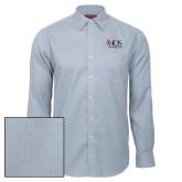 Red House Light Blue Diamond Dobby Long Sleeve Shirt-AXIOS Industrial Group