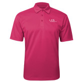 Pink Raspberry Silk Touch Performance Polo-AXIOS Industrial Maintenance