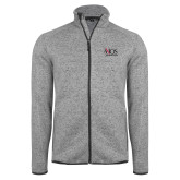 Grey Heather Fleece Jacket-AXIOS Industrial Group