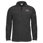 Columbia Full Zip Charcoal Fleece Jacket-AXIOS Industrial Group