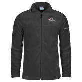 Columbia Full Zip Charcoal Fleece Jacket-AXIOS Industrial Maintenance