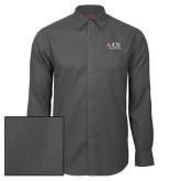 Red House Dark Charcoal Diamond Dobby Long Sleeve Shirt-AXIOS Industrial Group