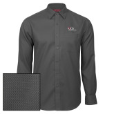 Red House Dark Charcoal Diamond Dobby Long Sleeve Shirt-AXIOS Industrial Maintenance