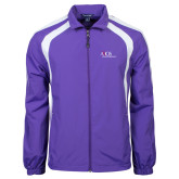 Colorblock Purple/White Wind Jacket-AXIOS Industrial Maintenance