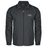 Full Zip Charcoal Wind Jacket-AXIOS Industrial Group