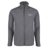 Grey Heather Softshell Jacket-AXIOS Industrial Maintenance
