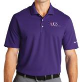 Nike Golf Dri Fit Purple Micro Pique Polo-AXIOS Industrial Maintenance