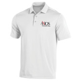 Under Armour White Performance Polo-AXIOS Industrial Group