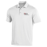 Under Armour White Performance Polo-AXIOS Industrial Maintenance