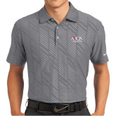 Nike Dri Fit Charcoal Embossed Polo-AXIOS Industrial Group