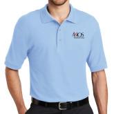 Light Blue Easycare Pique Polo-AXIOS Industrial Group
