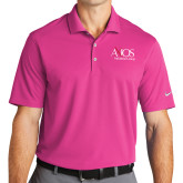 Nike Golf Dri Fit Fusion Pink Micro Pique Polo-AXIOS Industrial Group