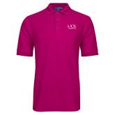 Tropical Pink Easycare Pique Polo-AXIOS Industrial Group