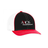 Black and Red Trucker Flexfit Hat-AXIOS Industrial Maintenance