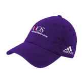 Adidas Purple Slouch Unstructured Low Profile Hat-AXIOS Industrial Maintenance