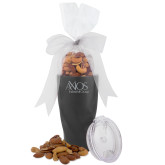 Deluxe Nut Medley Vacuum Insulated Graphite Tumbler-AXIOS Industrial Group Engraved
