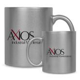 Full Color Silver Metallic Mug 11oz-AXIOS Industrial Maintenance
