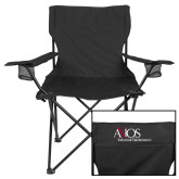 Deluxe Black Captains Chair-AXIOS Industrial Maintenance