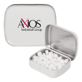 White Rectangular Peppermint Tin-AXIOS Industrial Group
