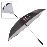 48 Inch Auto Open Black/White Inversion Umbrella-AXIOS Industrial Group