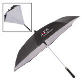 48 Inch Auto Open Black/White Inversion Umbrella-AXIOS Industrial Maintenance