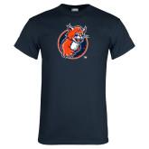 Navy T Shirt-Youth Mark