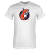White T Shirt-Youth Mark