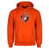 Orange Fleece Hoodie-Youth Mark