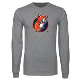 Grey Long Sleeve T Shirt-Youth Mark