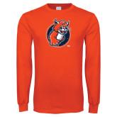 Orange Long Sleeve T Shirt-Youth Mark