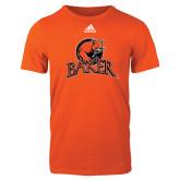 Adidas Orange Logo T Shirt-Primary Mark